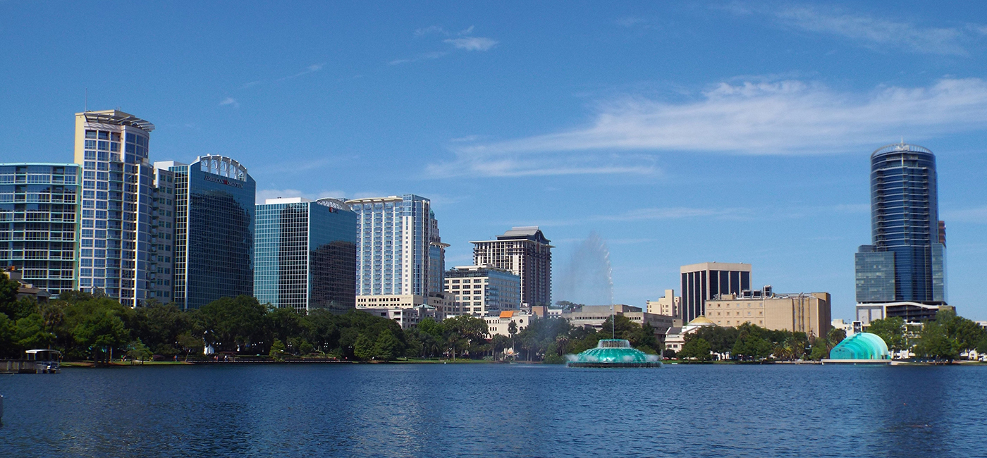 Lake Eola in Orlando, FL